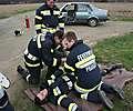 1. Verkehrsunfall Übung - Gruppenübung - 13.4.2013